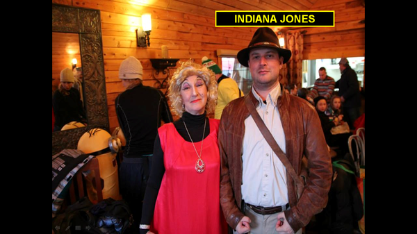La Castafiore et Indiana Jones